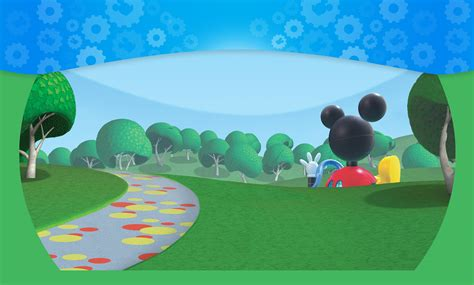 Mickey Mouse Wall Mural mickey mouse clubhouse images wallpapers wallpapersafari