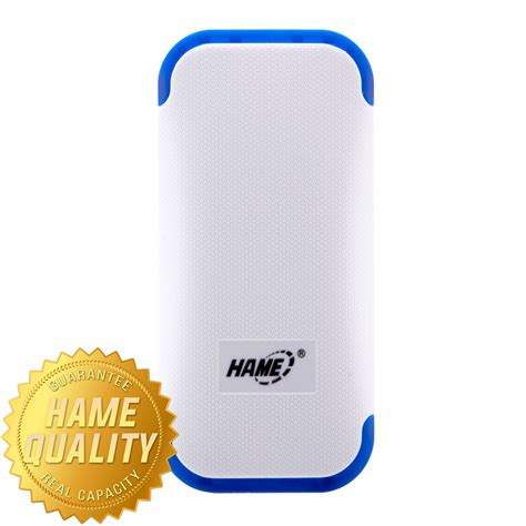 Power Bank 4400mah Hame Me12 White hame power bank 4400mah model hame me12 me12 white