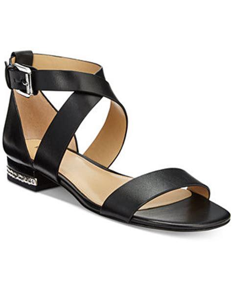 michael kors sandals macys michael michael kors sabrina flat sandals sandals