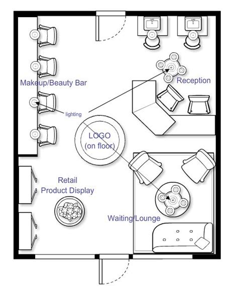 layout for small hair salon 1000 images about salon floor plans on pinterest beauty