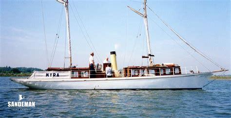 steam boat sale uk wilkins 42 ft steam schooner 1893 sandeman yacht company