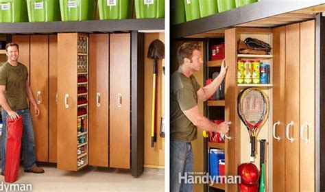 diy space saving garage storage iseeidoimake