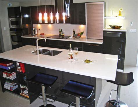 High Gloss Laminate Countertops by Kitchen High Gloss Laminate Caesarstone