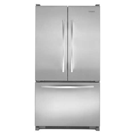 kitchenaid counter depth refrigerator with water dispenser kitchenaid kbfs20evms 19 8 cu ft french door