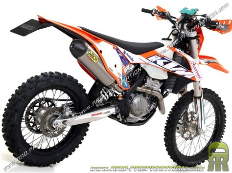 Ktm Road Racing Ligne Compl 232 Te Arrow Racing Road Mx Pour Ktm 350 Exc F