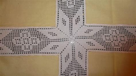 manteles tejido a crochet con tela de todo un poco manualidades mantel de ganchillo