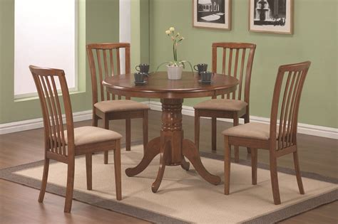 furniture outlet  wood dining table set walnut coaster