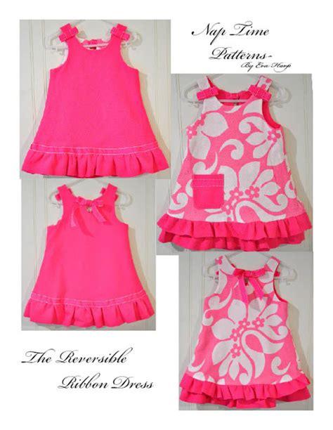 pattern for a line dress free reversible ribbon dress sewing pattern