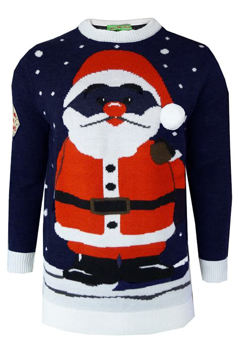 Chn Jumper ho ho ho mens womens jumper 3d warm knitted novelty sweater top ebay