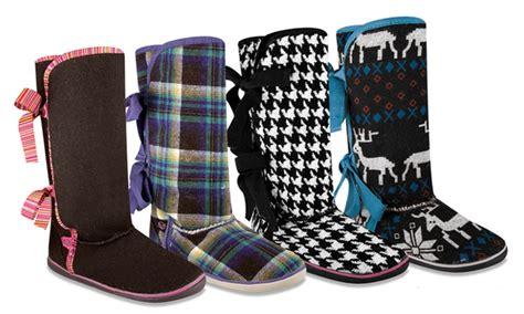 groupon boot c sugar moragami knit boot groupon