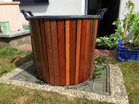 Zaun Günstig Selber Bauen 472 by Bankirai Pflanzk 252 Bel Selber Bauen K 252 Bel Container