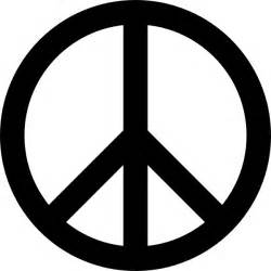 peace sign clip art free vector in open office drawing svg
