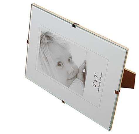 frameless 5 x 7 clip picture frame tempered glass frameless 5 x 7 clip picture frame tempered glass