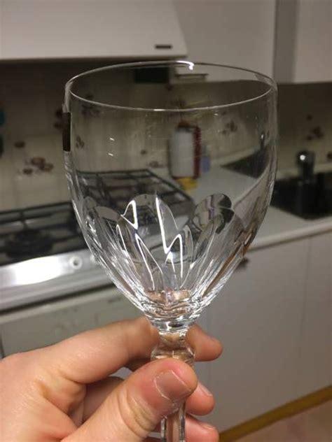 bicchieri da vino cristallo bicchieri di cristallo rcr a stradella kijiji annunci