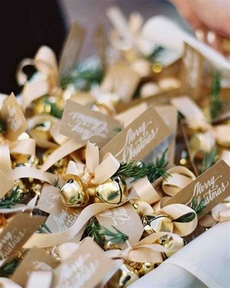 Wedding Favors Bells by 32 Unique Ideas For Winter Wedding Favors Martha Stewart