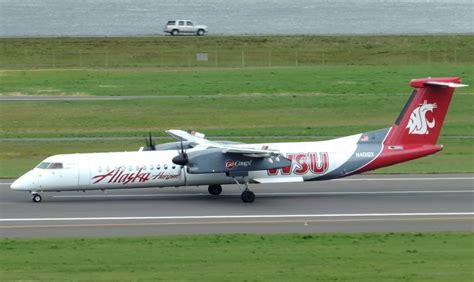alaska airlines fleet bombardier dash 8 q400 details and pictures airlinesfleet