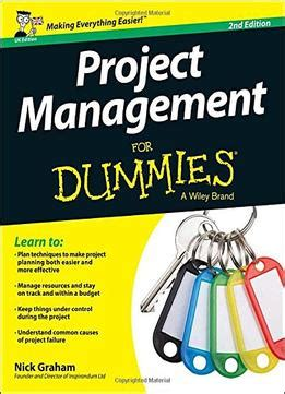 healthcare project management second edition books project management for dummies 2nd edition business