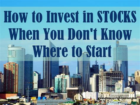 How To Invest In Bitcoin Stock by How To Invest In The Stock Market Money Ph