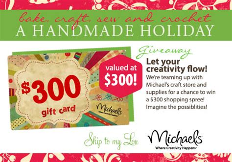 Where Can I Buy A Michaels Gift Card - 300 michaels gift card giveaway amy latta creations