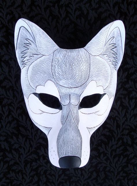 How To Make A Wolf Mask Out Of Paper - how to make a wolf mask out of paper 28 images wolf