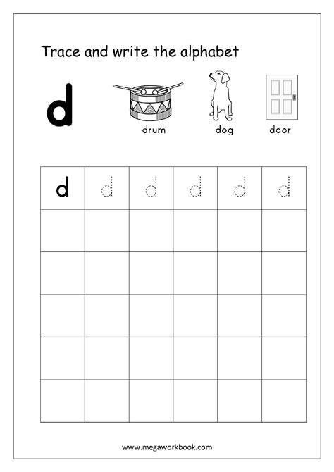 free worksheets alphabet writing small letters