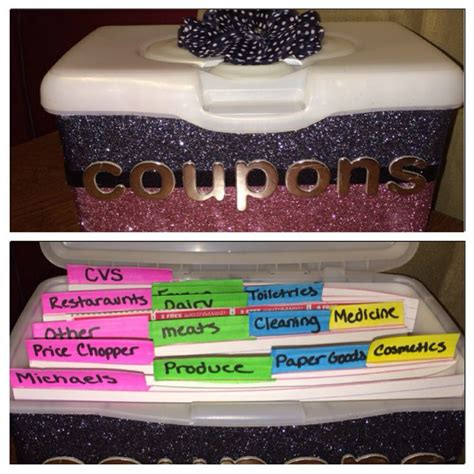 coupon organizer diy pin by charlene fisher on cleaning orginazation