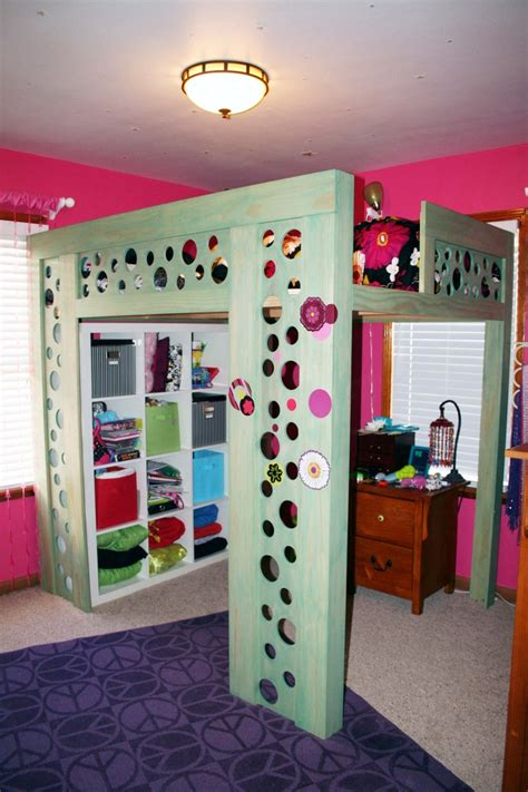Bunk Bed Storage Ideas Coolest Loft Bed Ikea Storage Underneath Is Awesome To Keep Room Nicely Organized And
