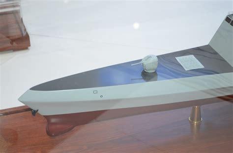 trimaran frigate chinese navy unveils trimaran frigate idex 2017