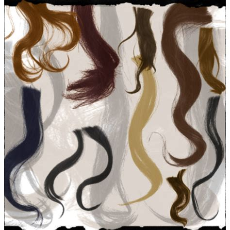 download hair brushes for gimp curly hair brushes photoshop free download