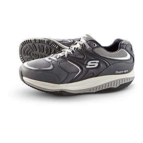 s skechers 174 shape ups 174 xt talas walking shoes navy