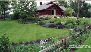Country Backyard Rural Landscaping Ideas Studio Design Gallery Best