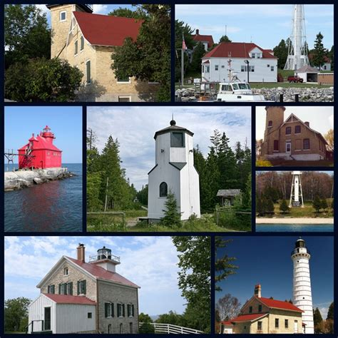 door county lighthouses vacations