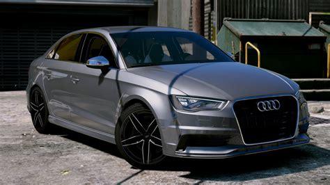 Audi Sedan by Audi A3 Sedan 2 0t 2015 Gta5 Mods