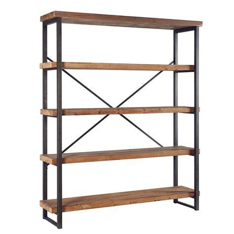 l etagere l 233 tag 232 re atelier le style indus en bois recycl 233 et m 233 tal