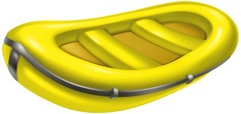 cartoon yellow boat yellow rubber boat png clip art image gallery