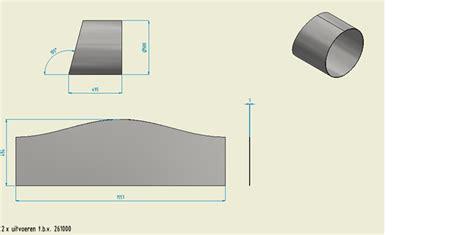 flat pattern drawing inventor flat pattern en model op tekening inventor users forum