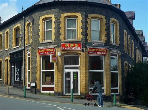 happy house chinese restaurant happy house chinese restaurant richmond house brynmor terrace in penmaenmawr gb