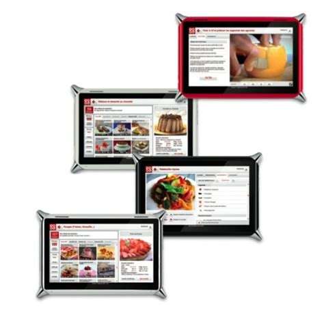 tablette de cuisine qooq id 233 e cadeaux la tablette tactile qooq au service de
