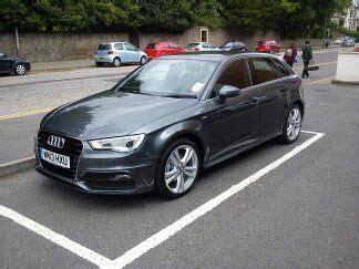 Autoversicherung Audi A3 by Pike Bambridge New Audi A3 Company Car For Insurance