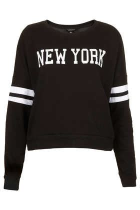Kitchen Sofas Uk New York Long Sleeve Sweat Jersey Tops Clothing Topshop