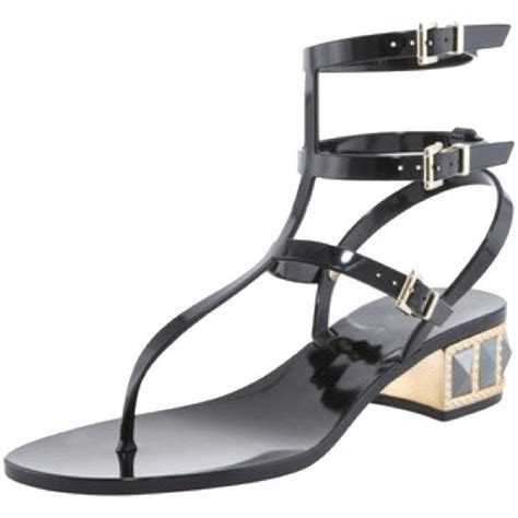 Sandal Jelly Gladiator Glass 095 287 best casual me images on black biker boots