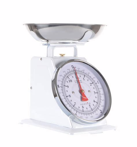 traditional kitchen weighing scales hanson 500 white traditional mechanical chrome bowl