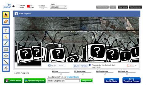 cara membuat cover facebook cara membuat foto sul facebook keren dan unik tools