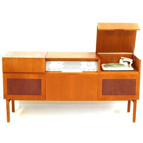 Ono Sideboard Stereo Phono M 246 Bel Mit Ger 228 Ten Von Braun M 246 Bel Z 252 Rich