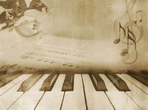 imagenes vintage sepia music background vintage piano design stock photo