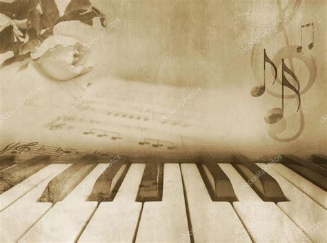 music background vintage piano design stock photo