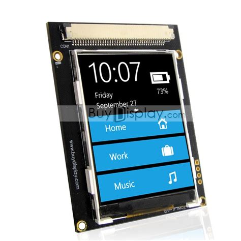 28 Inch 28 Tft Lcd Touch Panel Sd Card qvga 2 4 quot tft lcd touch shield 320x240 serial module