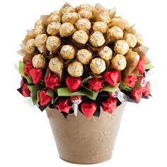 Lindt Lindor White Chocolate Pieces Bar Cokelat Coklat Import edible chocolate bouquet big small by choquetbysam on madeit gifts