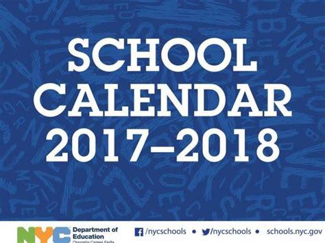nyc schools for new year nyc 2017 18 school year calendar day of school