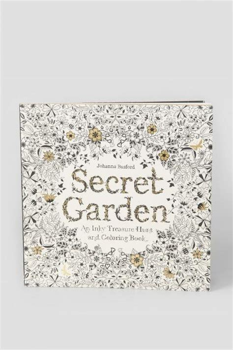 secret garden an inky secret garden an inky treasure hunt and coloring book by